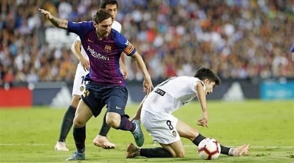 برشلونة يسقط في فخ التعادل أمام فالنسيا