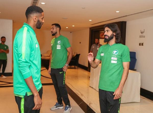 رقم مميز لـ حسين عبد الغني بعد الإنضمام لـ الأخضر