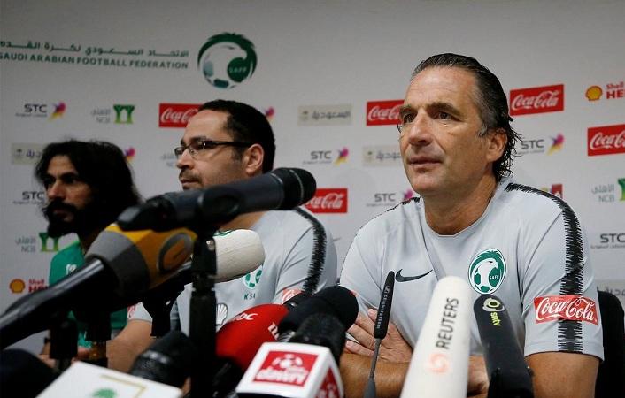 بيتزي: الأخضر جاهز لمواجهة المنتخب البرازيلي