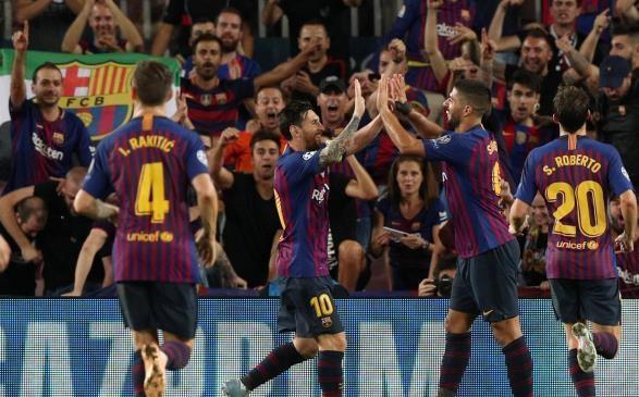 ملعب ويمبلي أمل نجم برشلونة في كسر اللعنة