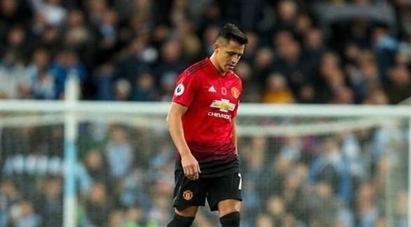 سانشيز يتعرض لإصابة في تدريب مانشستر يونايتد