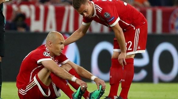 إصابة روبين تبعده عن بايرن ميونيخ