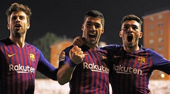 سواريز أفضل لاعب في الدوري الإسباني في أكتوبر