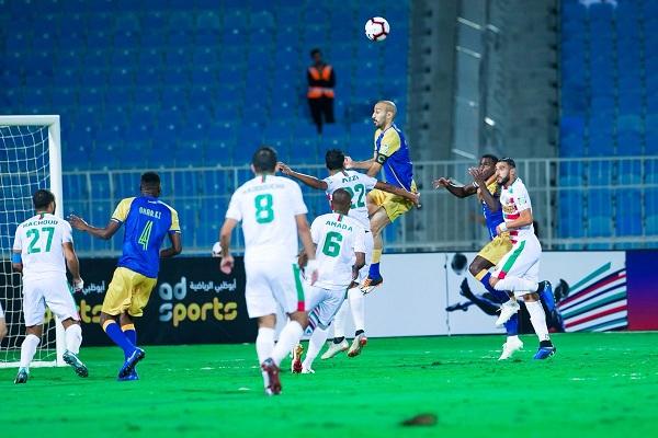 النصر يخسر أمام مولودية الجزائر في كأس زايد