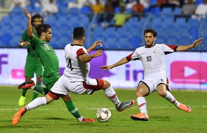 غريب يقود المنتخب السعودي للفوز على اليمن