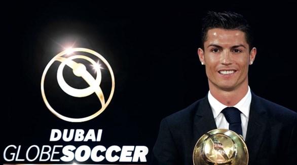 رونالدو يقود نجوم الكرة في حفل جوائز غلوب سوكر