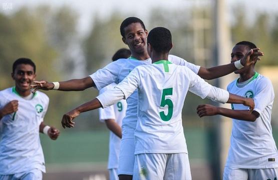 المنتخب السعودي تحت 16 عامًا يفوز على الإمارات في الدورة الودية للناشئين