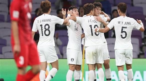 كوريا الجنوبية تتأهل إلى دور الـ 16 في كأس آسيا