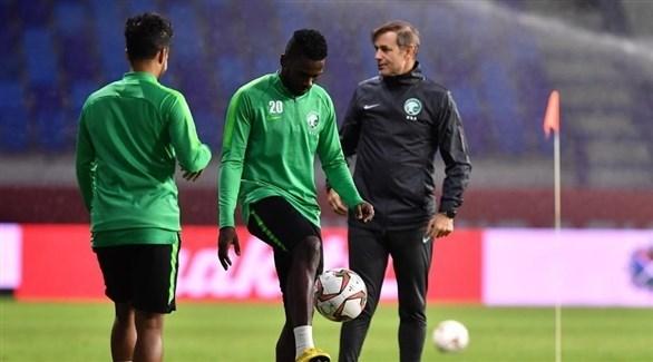 لاعبو الأخضر يؤكدون جاهزيتهم لمواجهة لبنان