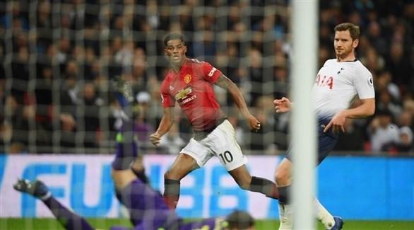 مانشستر يونايتد يواصل انتصاراته والضحية توتنهام