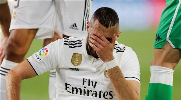 ريال مدريد يكشف خطورة إصابة بنزيما
