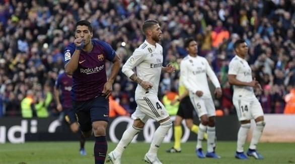 تحديد موعد كلاسيكو الإياب بين برشلونة وريال مدريد