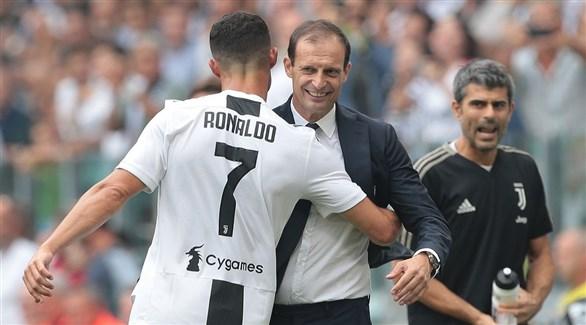 أليغري: رونالدو أصبح أفضل بعد الخروج من ريال مدريد