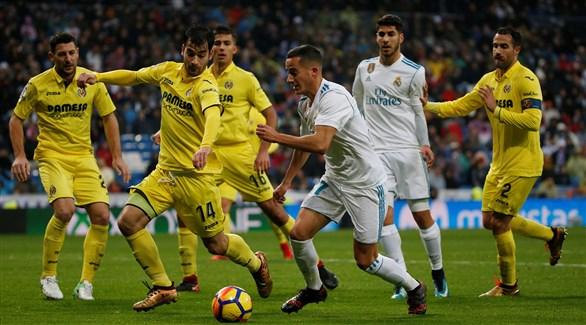 ريال مدريد يسعى لاقتناص الفوز من فياريال العنيد