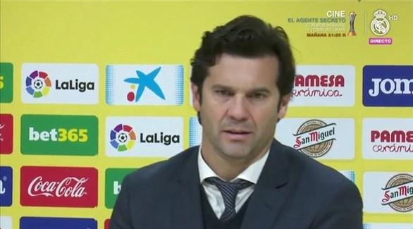 مدرب ريال مدريد يكشف سبب التعادل المخيب أمام فياريال
