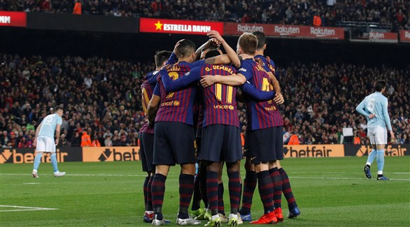 برشلونة يسعى لتعزيز الصدارة .. وإشبيلية يهدد طموح أتلتيكو