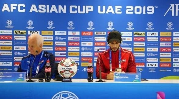 السومة: نشعر بأننا في كأس العالم وليس أمم آسيا