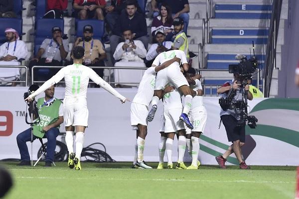 المنتخب السعودي يتأهل رسمياً لدور الـ 16