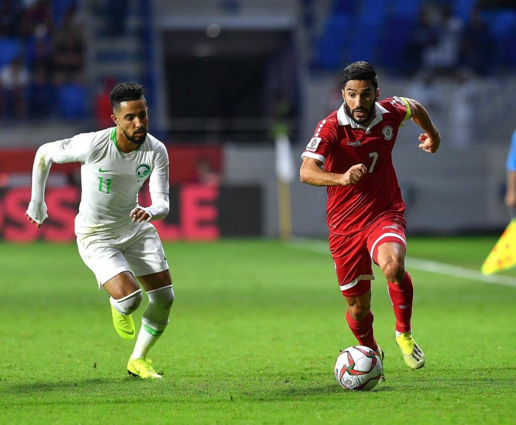 هتان باهبري أفضل لاعب في مواجهة السعودية ولبنان