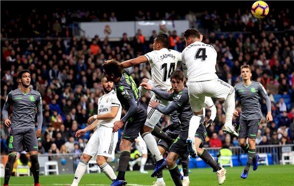 ريال سوسيداد يسقط ريال مدريد بثنائية