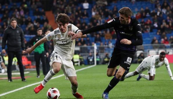 ريال مدريد يهزم ليغانيس بثلاثية في كأس إسبانيا