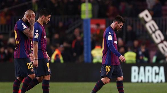 برشلونة يقع في مأزق كبير بعد التعادل مع أتلتيك بلباو