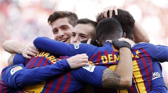 إصابة الثلاثي الدولي تقلق جماهير برشلونة