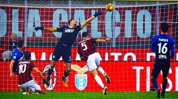ميلان يسعى لتأكيد تفوقه على لاتسيو في كأس إيطاليا