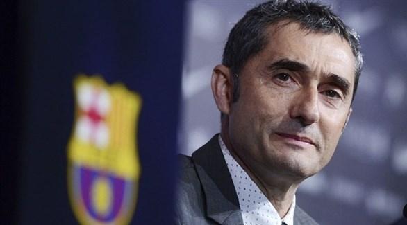 مدرب برشلونة: حظوظنا متساوية مع ريال مدريد