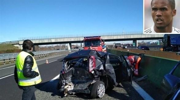 نجاة البرازيلي دوغلاس كوستا من حادث سير في إيطاليا