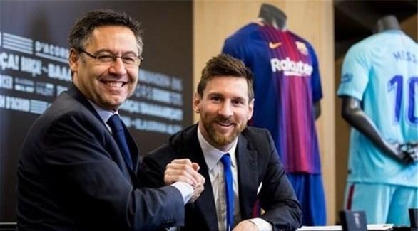 بارتوميو: برشلونة بدأ التحضير لمرحلة ما بعد ميسي