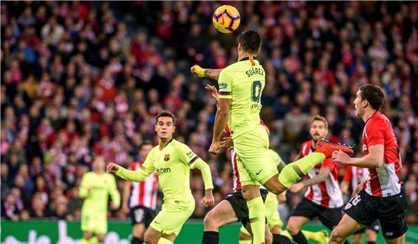 أتلتيك بيلباو يفرض التعادل على برشلونة