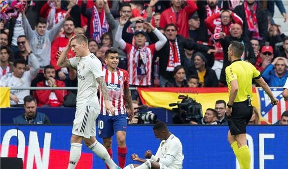 الريال يدك شباك أتلتيكو بثلاثية في ديربي مدريد