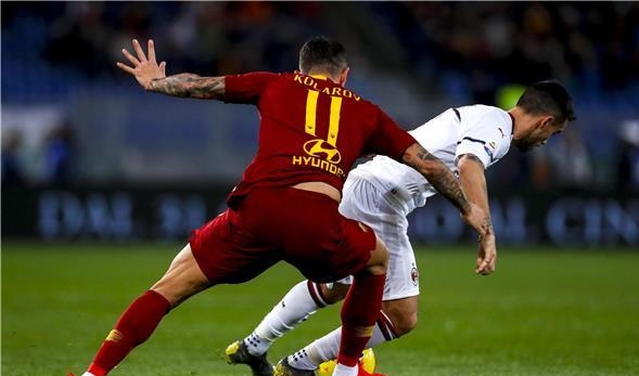 التعادل يحسم مواجهة روما وميلان