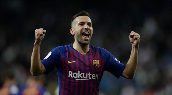 ألبا يجدد عقده مع برشلونة حتى 2024
