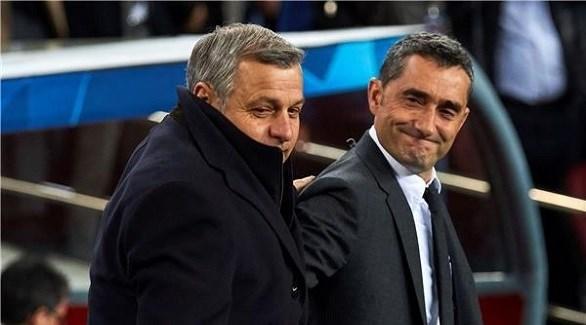 مدرب برشلونة : نشعر بحماس في دوري الأبطال
