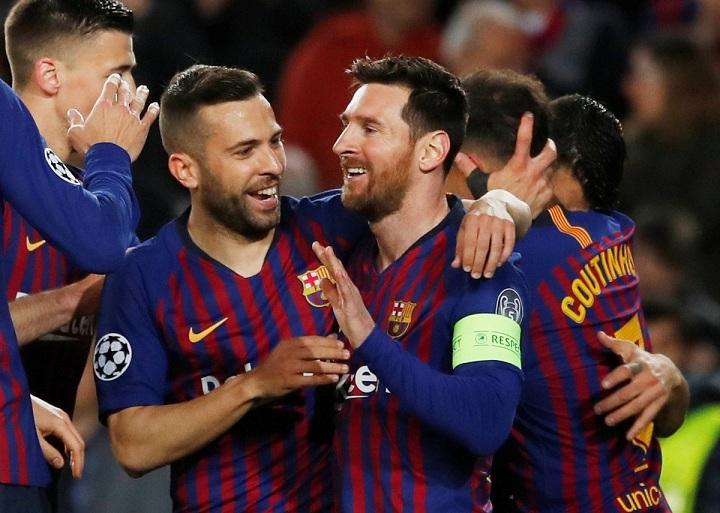 برشلونة يستعرض بخماسية في شباك ليون