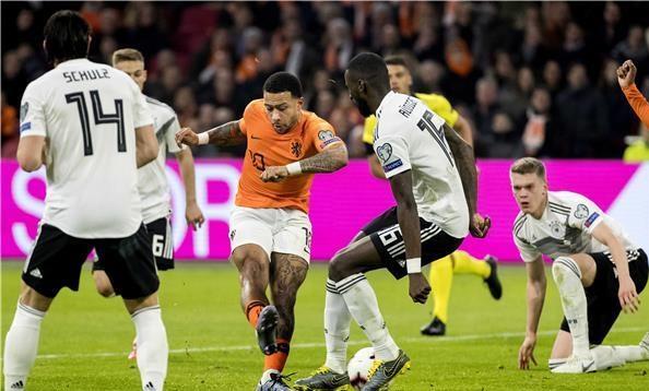 ألمانيا تلدغ هولندا بثلاثية في تصفيات يورو 2020