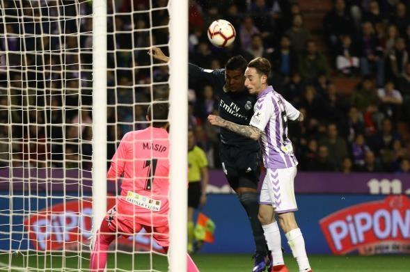 ريال مدريد يدك شباك بلد الوليد برباعية