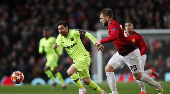 برشلونة يسعى للتخلص من لعنة ربع النهائي أمام  يونايتد