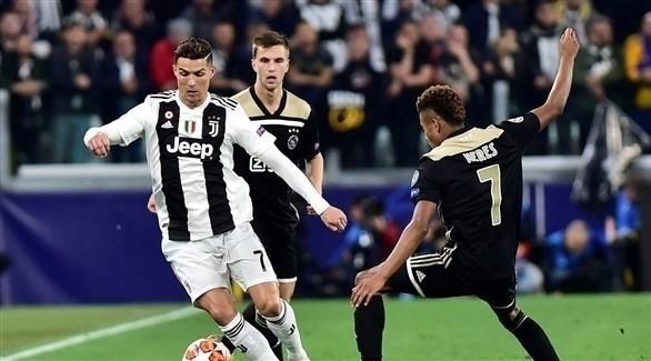أياكس يُطيح بـ يوفنتوس من دوري أبطال أوروبا