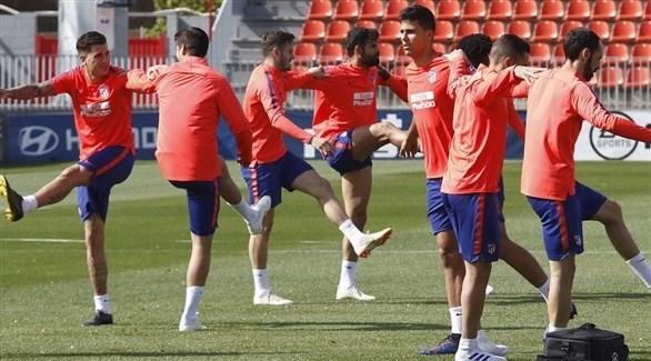 كوستا يعود لتدريبات أتلتيكو مدريد بعد الامتناع عنها