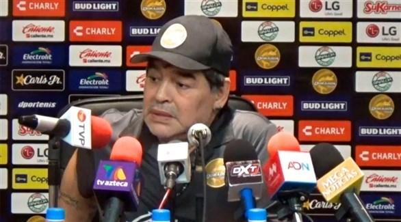 مارادونا يتراجع عن ترك دورادوس المكسيكي