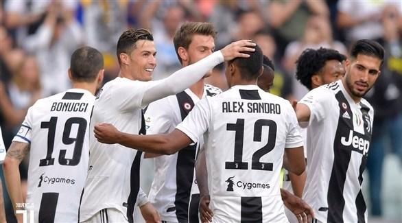 رسمياً .. يوفنتوس يتوج بطلاً لـ الدوري الإيطالي