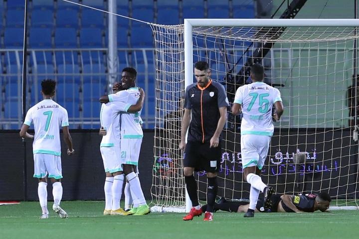 حارس الشباب: الفريق بأكمله لم يقدم المستوى المطلوب أمام الأهلي