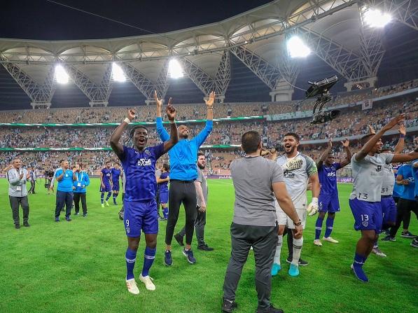 عموري : ألف مبروك للجماهير الهلالية التأهل لنهائي كأس زايد