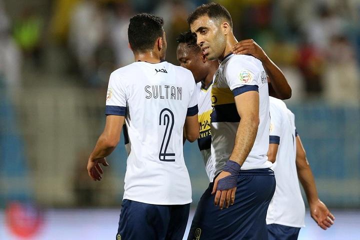 النصر يسعى لتحقيق الفوز الثالث أمام الوصل الإماراتي