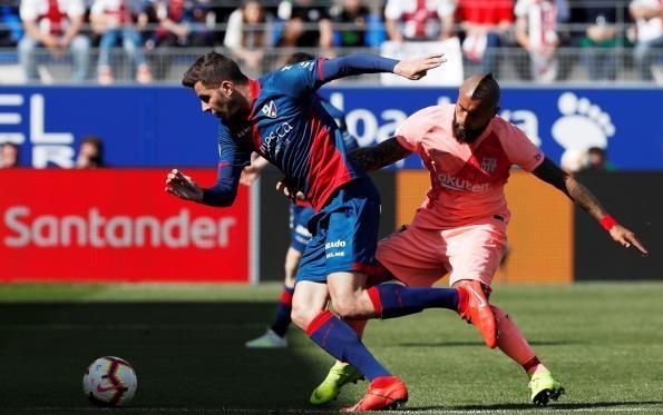 هويسكا يفرض التعادل السلبي على برشلونة