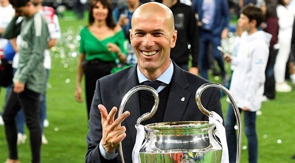 زيدان يطمئن مشجعي ريال مدريد