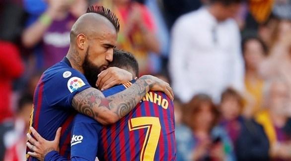 كوتينيو مهدد بالغياب عن نهائي كأس إسبانيا
